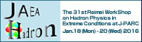 The 31st Reimei WorkShop on Hadron Physics in Extreme Conditions at J-PARC
